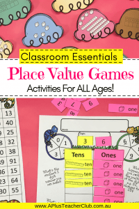 Place Value Games & Activities Images of products