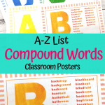 Compound Words Posters