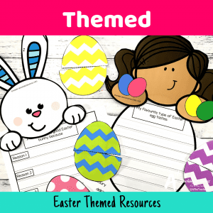 Easter Literacy Printables {Eggcellent Activities}