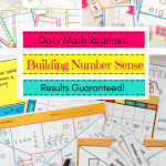 Number Sense Math Activities & Printables