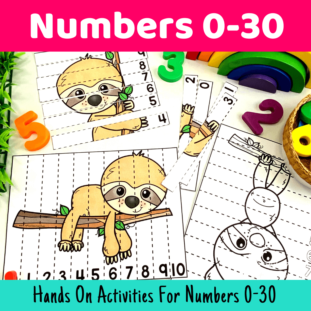 Must Have Number Printables 0-20