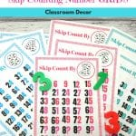 Skip Counting Number Charts For the Classroom