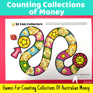 Counting Money Math Center Games {Coins & Notes}