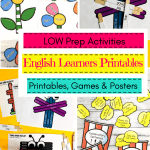 Pinterest Image Of English Learners Printables
