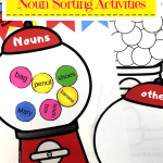 Gumball Noun Sorting Pinterest Pin