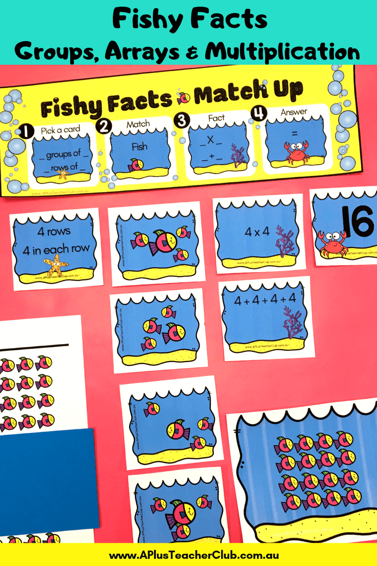 Multiplication, Arrays and Groups of Math Games product image