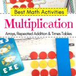 Teaching Multiplication Pinterest Image