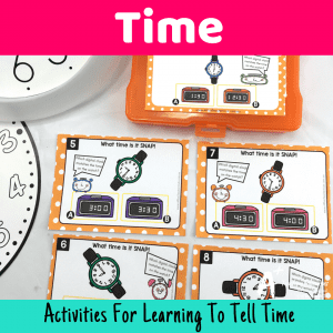 Telling Time Activities For Kids