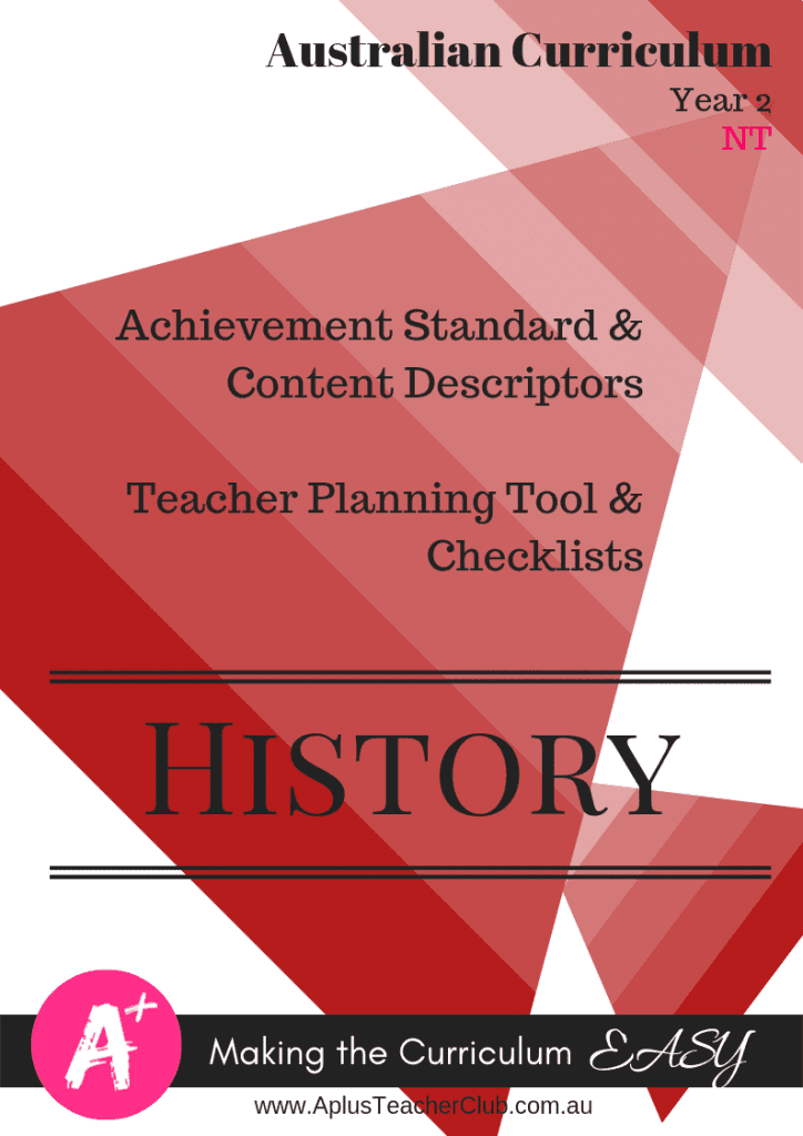 Year 2 Planning Tools History NT Product Image