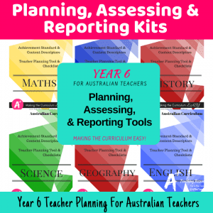 Teacher Planning Year 6 {Must Have Tools!}