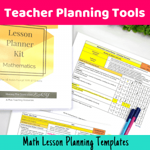 Time Saving Lesson Plan Templates {For Busy Teachers}