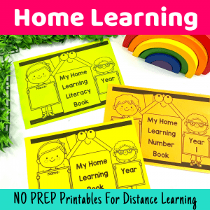 Home Learning Packs {For Parents or Teachers}