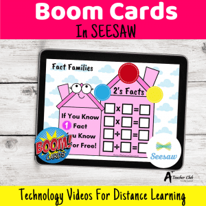 How To Use BOOM Cards in SEESAW {FREE Video Tutorial}