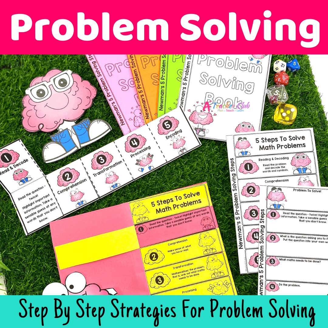 Ultimate Problem Solving Printables
