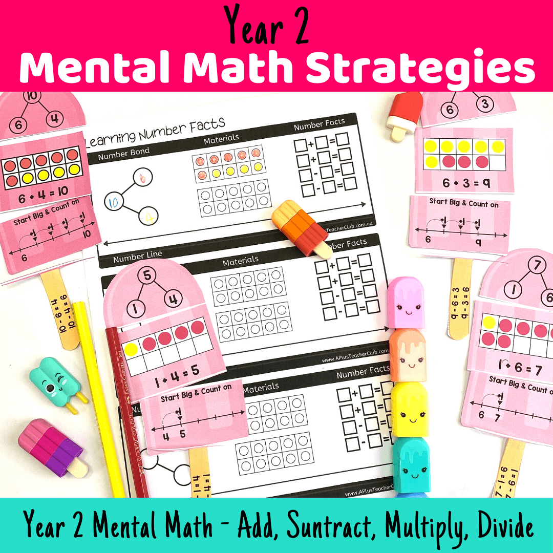 Mental Math Strategies Year 2 {What To Teach!}