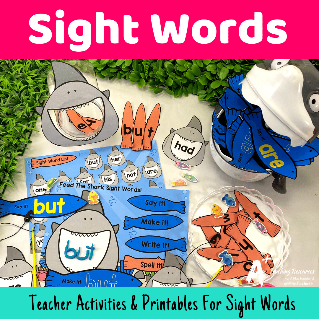 Sight Words Teaching Resources : Reading Skills