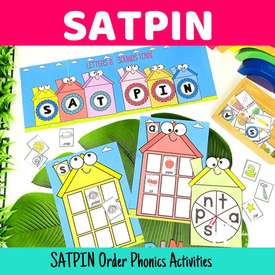 SATPIN Activities {Fun Phonics}